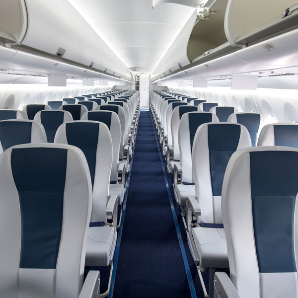 Aerospace Drape Forming Seats