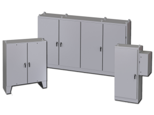 Free-Standing and Floor-Mounted Enclosures - saginaw control & engineering
