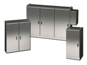 Free-Standing and Floor-Mounted Enclosures (Stainless Steel)