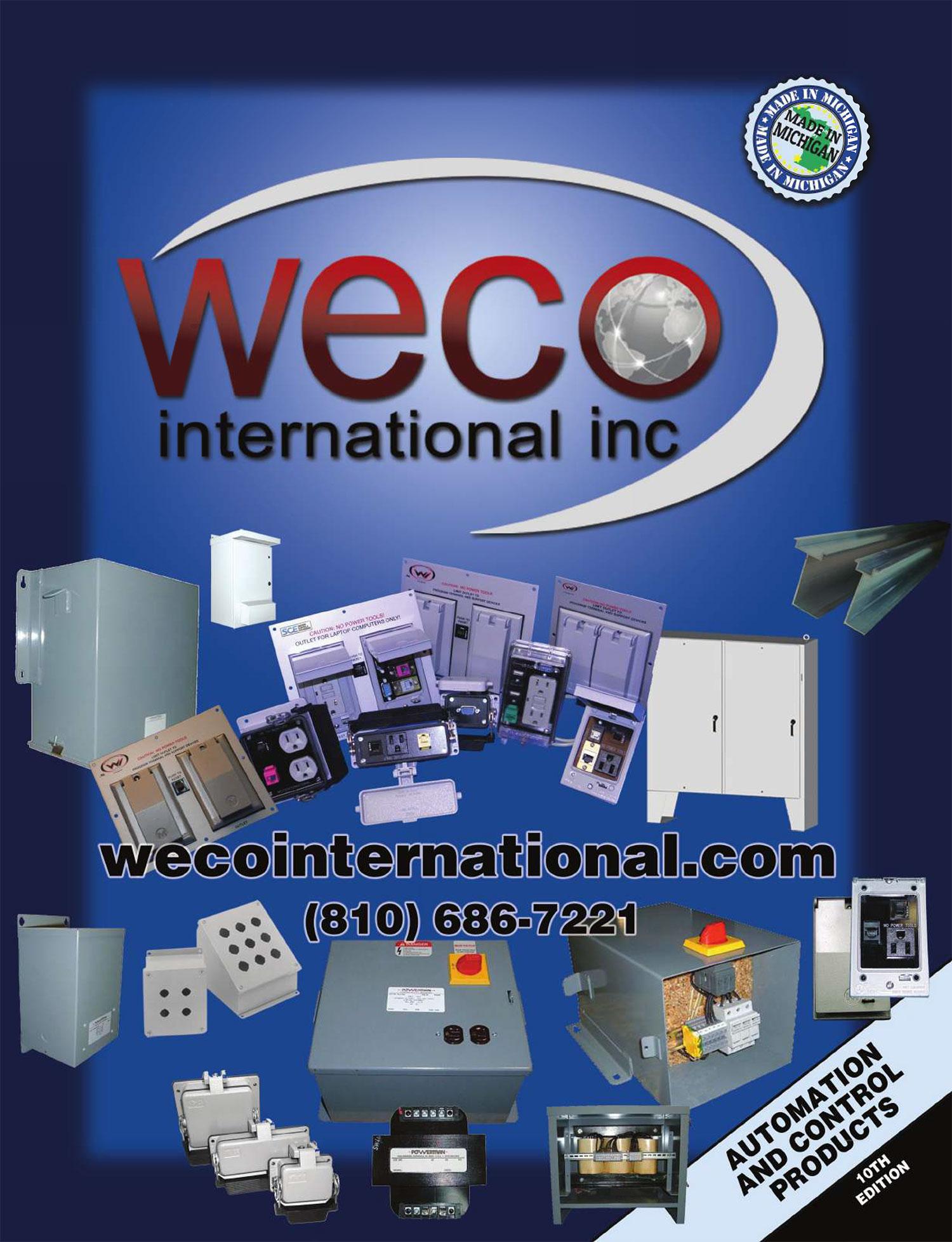 WECO Automation Catalog