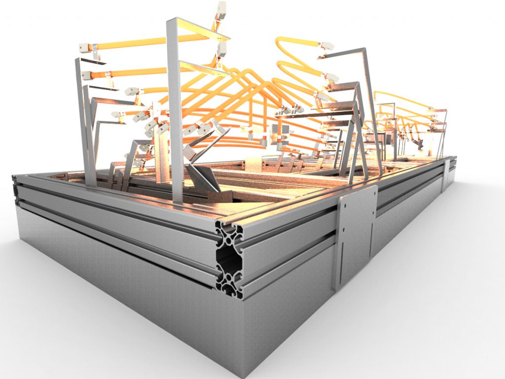 Quartz Tube Oven Bonding Automotive Interiors