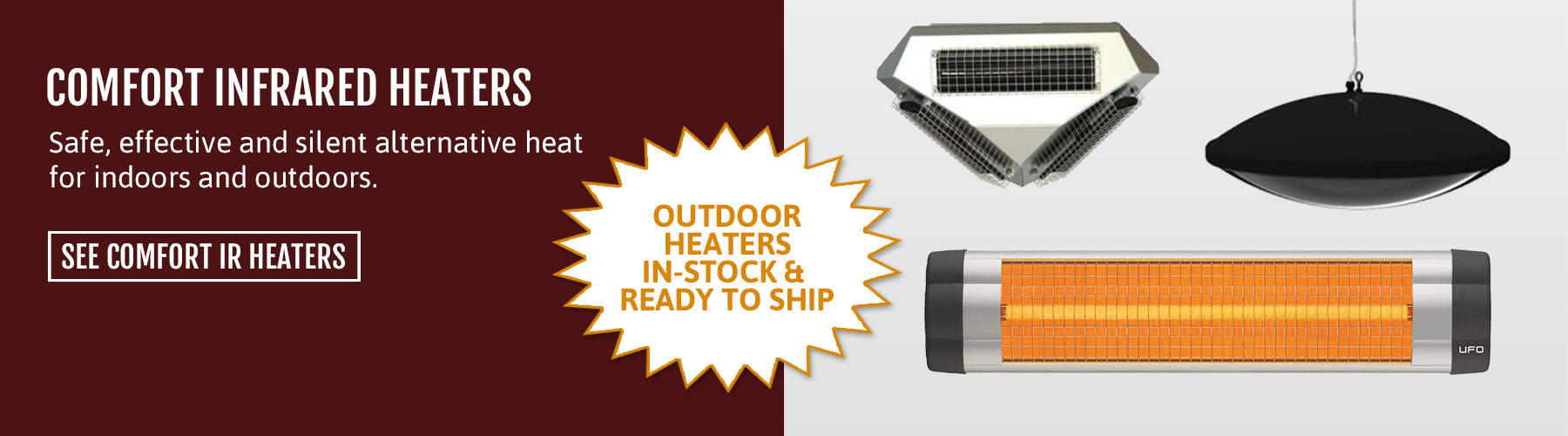 Infrared Outdoor Heaters